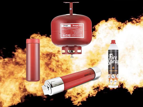 Brandschutz - Bonpet Produkte auf einem Blick